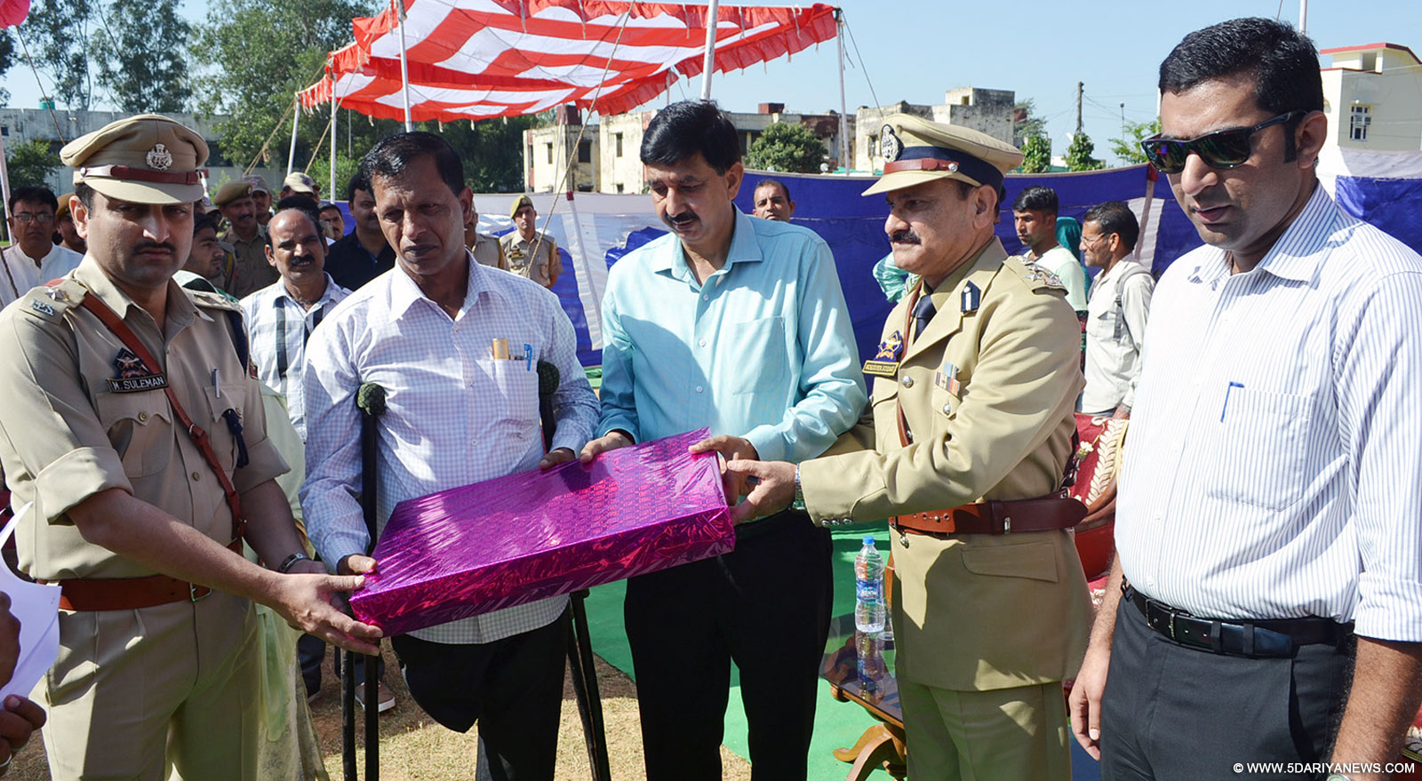 Police martyrs remembered at Udhampur