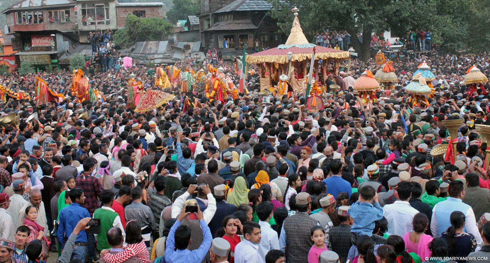 International Dussehra Festival begins with fanfare and enthusiasm