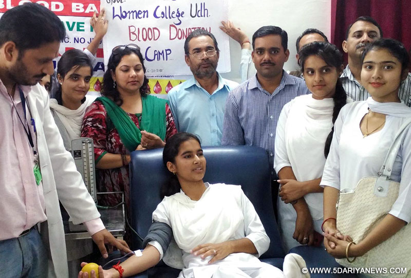 NSS holds blood donation camp