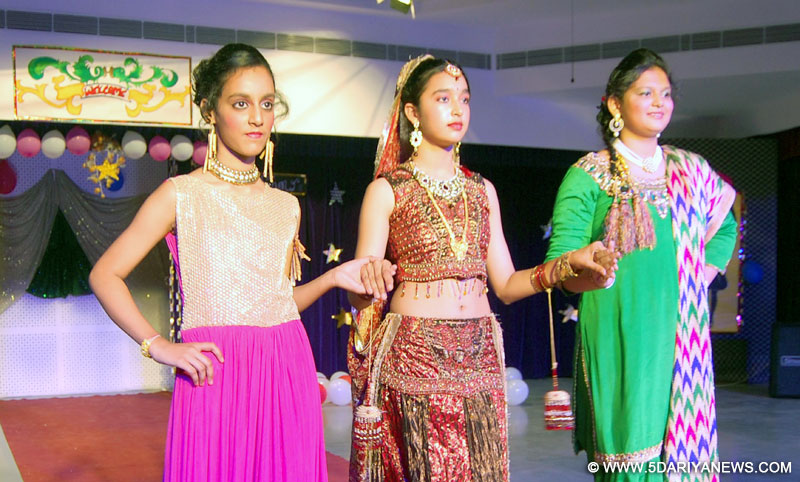 Lawrence School celebrated Annual Function under the theme I Love My India