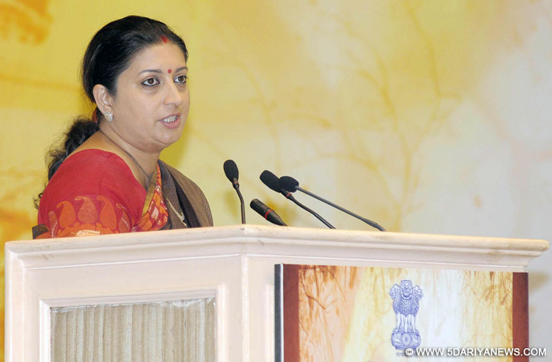 Indian women not dictated over dressing: Smriti Irani
