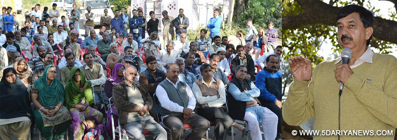 Gupta convenes public grievances redressal camp at Bhagpur
