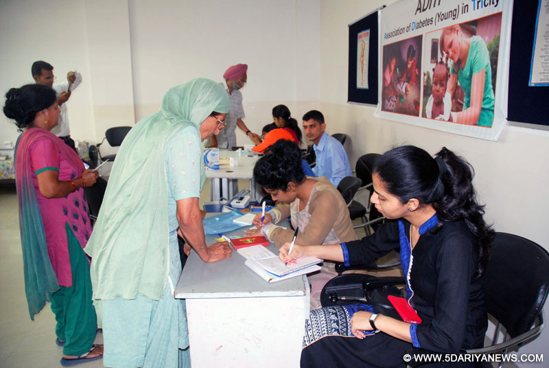 A free medical check-up camp was organized at Anee's School