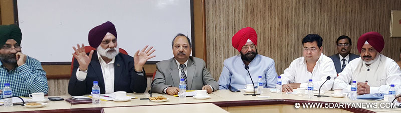 Solve the problem of Colleges under MRSSTU, Bathinda : PUTIA
