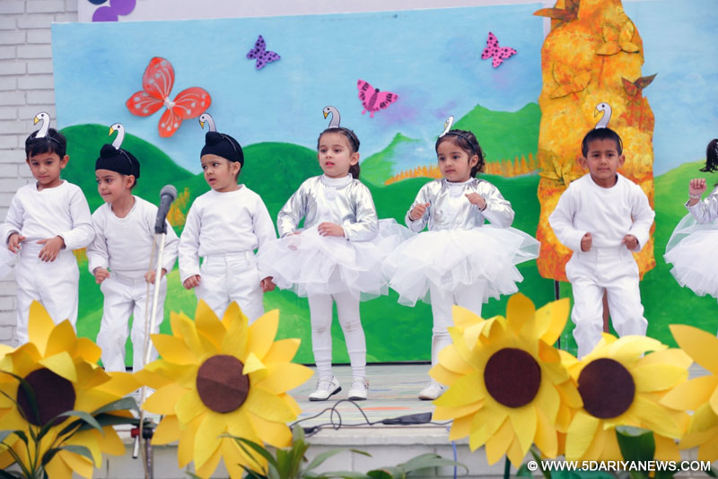Yadavindra Public School Kindergarten Presents A Musical 'All Things Bright And Beautiful'
