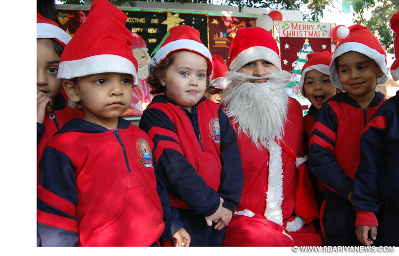 Shemrock School celebrated Christmas with a festive spirit mohali