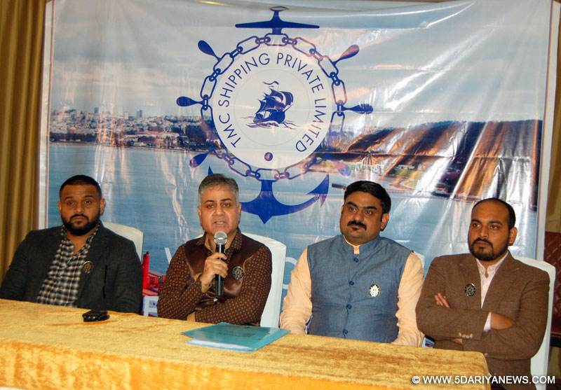 TMC Shipping Company organised career oriented seminar in Merchant Navy after completing schooling