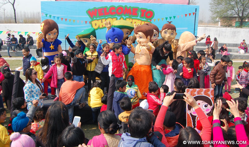 Oakridge International School hosted Chhota Bheem and Friends event