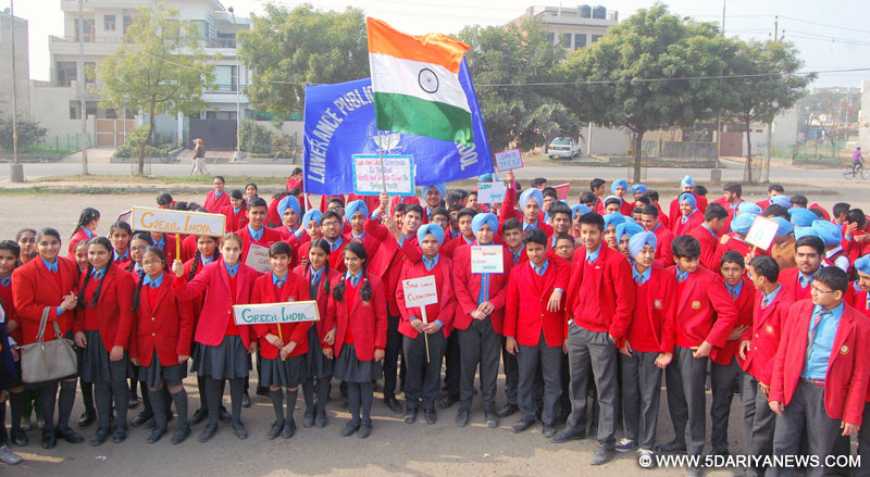 Lawrence Public School organized Rally on cleanliness