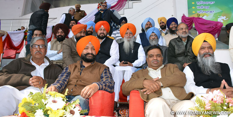Sports being organized in the honor of Shaid-e-Azam Bhagat singh will fill zeal, encouragement and sense of patriotism among the players: Prof. Chandumajra