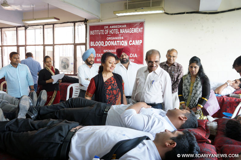 AIHM Hosts Blood Donation Camp
