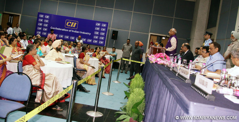 The Governor of Punjab, Haryana and Administrator, UT, Chandigarh, Prof. Kaptan Singh Solanki inaugurated workshop on Yoga for Good Health at CII Chandigarh on 10.06.2016.