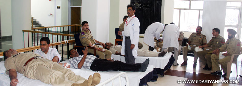 PHQ organizes blood donation camp
