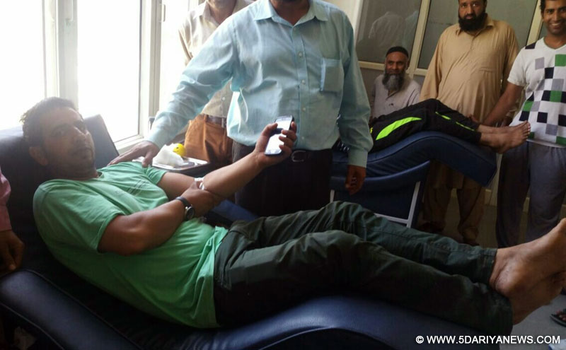 DHSK organizes Blood donation camps