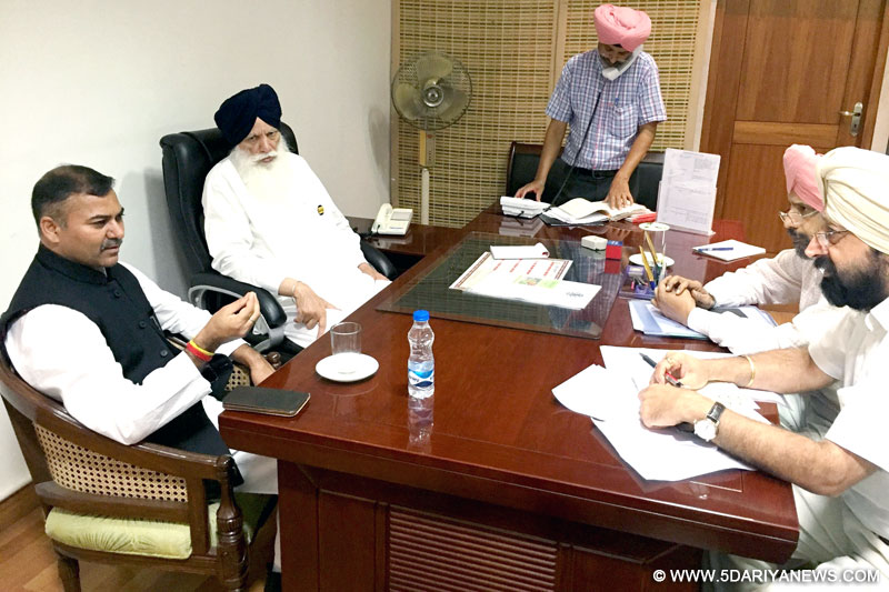 Jammu & Kashmir And Punjab To Work Together In The Agriculture And Horticulture Sectors: J