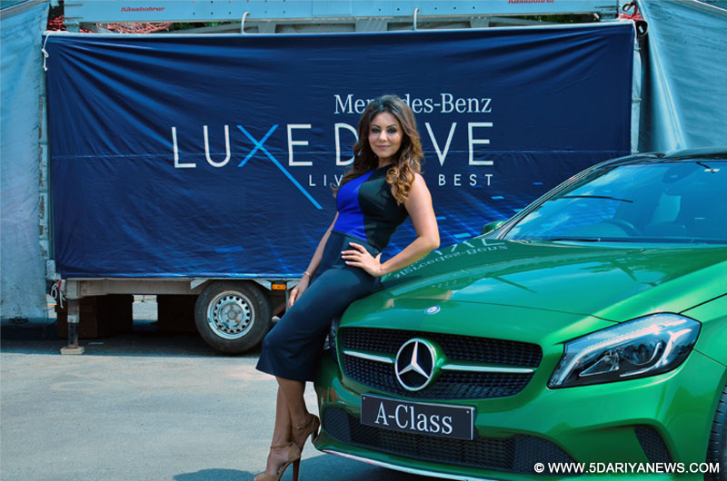 Gauri Khan in Gurgaon for Mercedes-Benz Luxe Drive