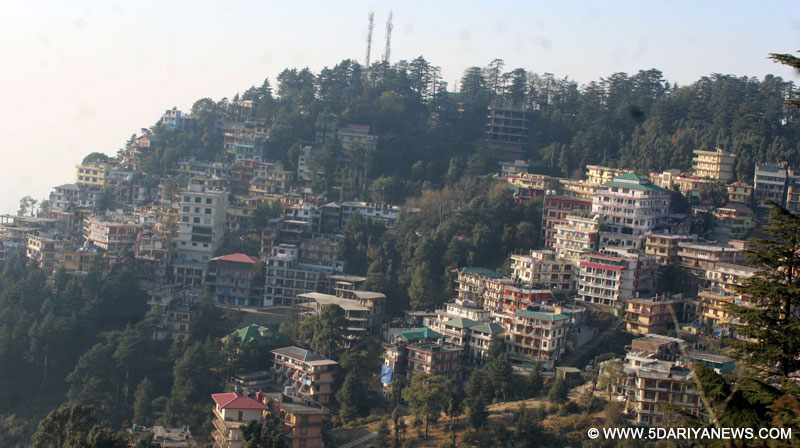 McLeodganj, the abode of Tibetan spiritual leader Dalai Lama in Himachal Pradesh, has been turning into concrete jungle with upcoming massive constructions.