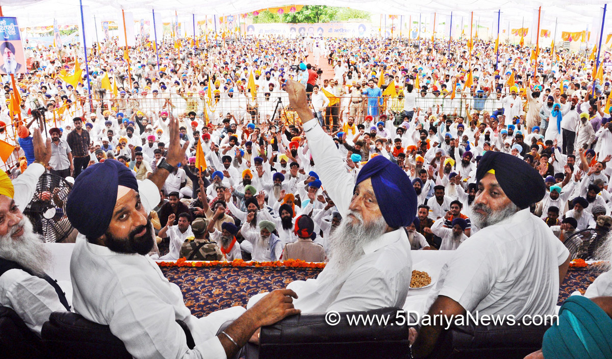 Punjab Congress Government failed in every sector : Sukhbir Singh Badal