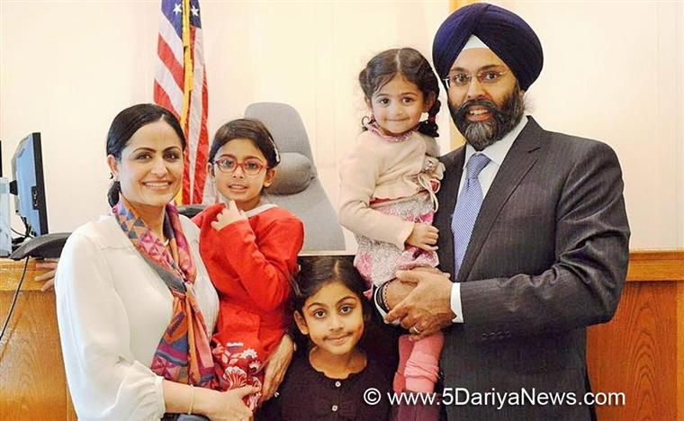 In historic first, Sikh nominated to be attorney general of New Jersey