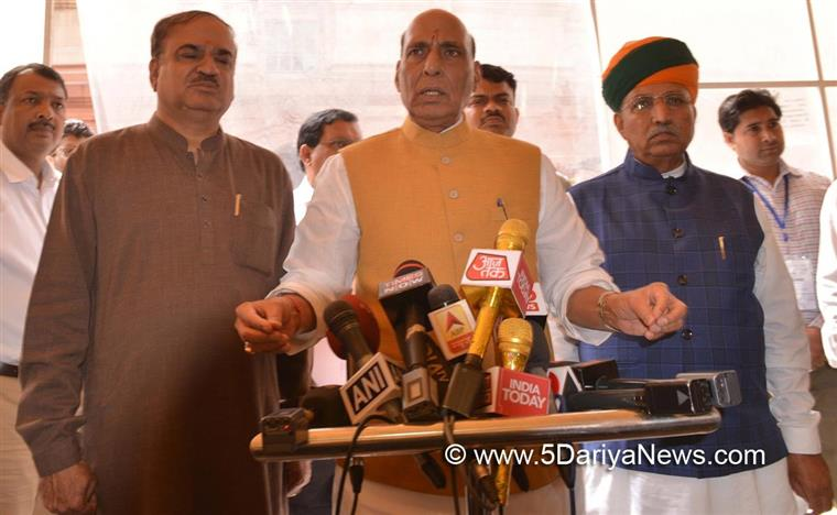 Parliamentary proceedings must not be disrupted : Rajnath Singh