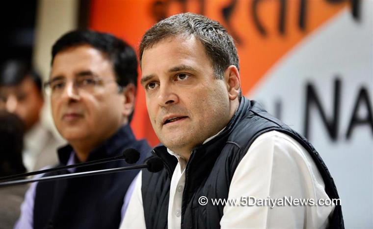 Assembly election results clear message to Modi : Rahul Gandhi