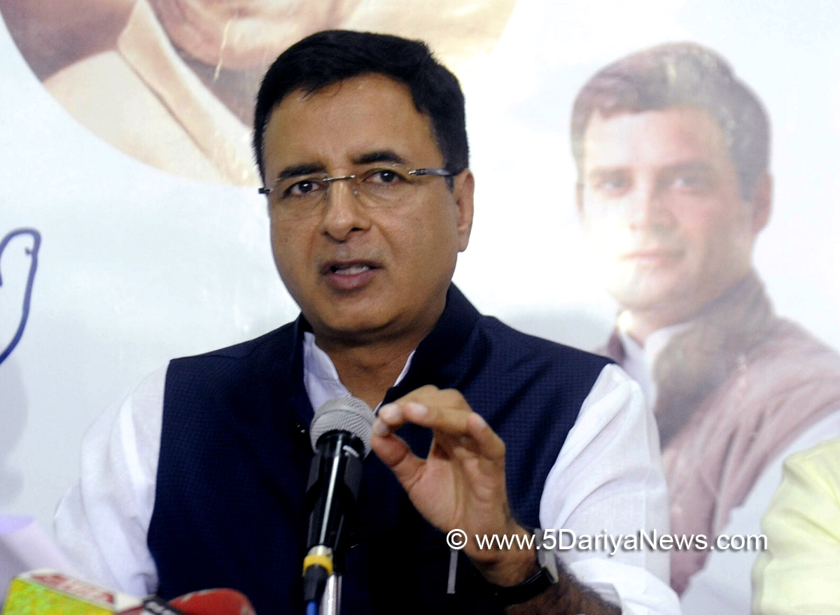Modi politicising bravery of soldiers : Randeep Singh Surjewala