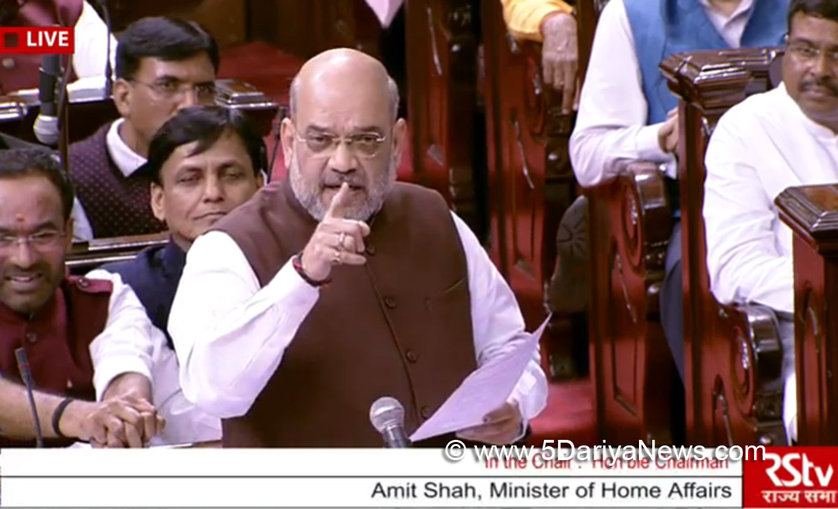 Bifurcated UTs would become 'state' again when normal : Amit Shah