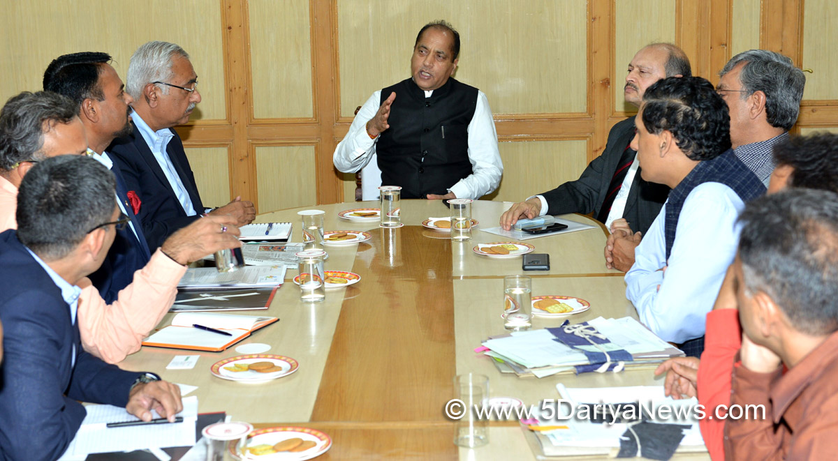 Mahendra group gives presentation on tourism project in Himachal
