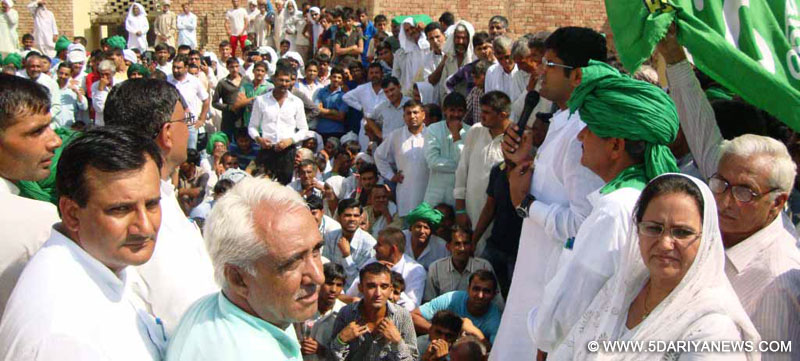 INLD would not allow Congress and BJP to put state's right on sale for their personal gains:Dushyant Chautala