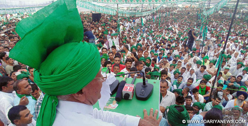 Govt. has proved to be disastrous for farming and industrial sector : Om Parkash Chautala