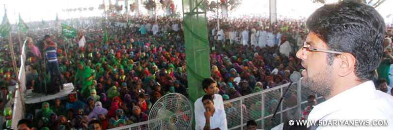 Every soldier of Chautala will give a befitting reply to BJP :Dushyant Chautala