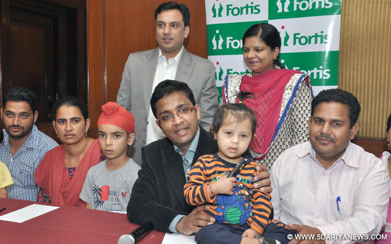 Non-surgical treatment for children suffering from cardiac problems at Fortis Hospital